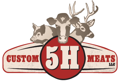 5H Custom Meats logo